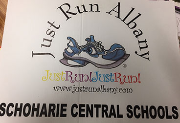Just Run Albany banner