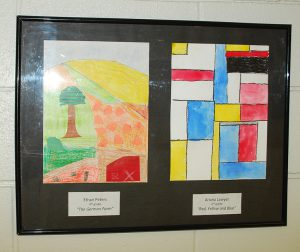 paintings  by Ethan and Ariana